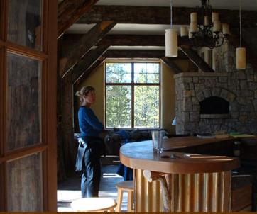 Colorado straw bale mountain home Boulder, Colorado architects