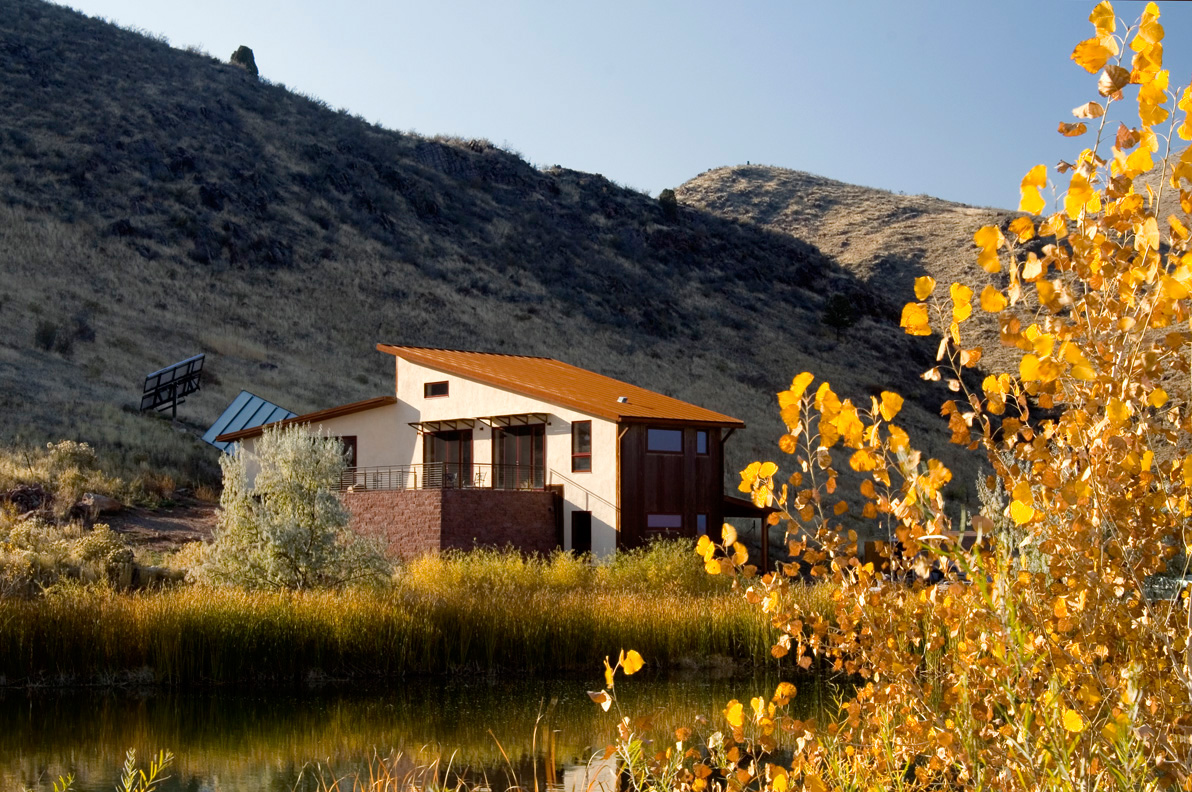 Ranch 1 - Golden Colorado straw bale architecture