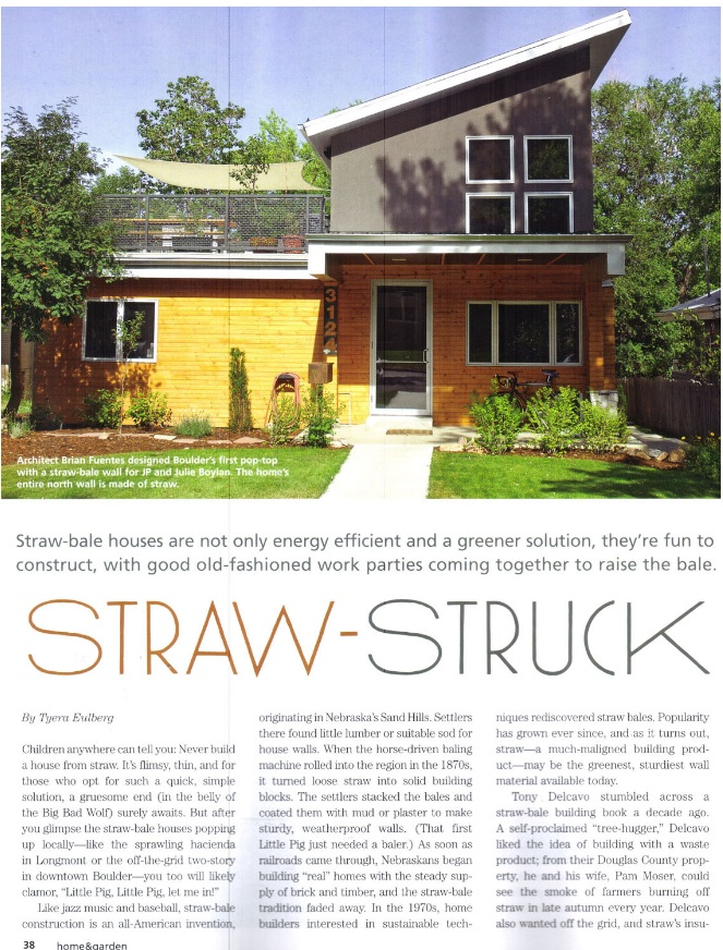 Boulder Colorado Architect | Natural Architecture | Passive House | Energy Retrofit | Zero Energy | Straw Bale homes